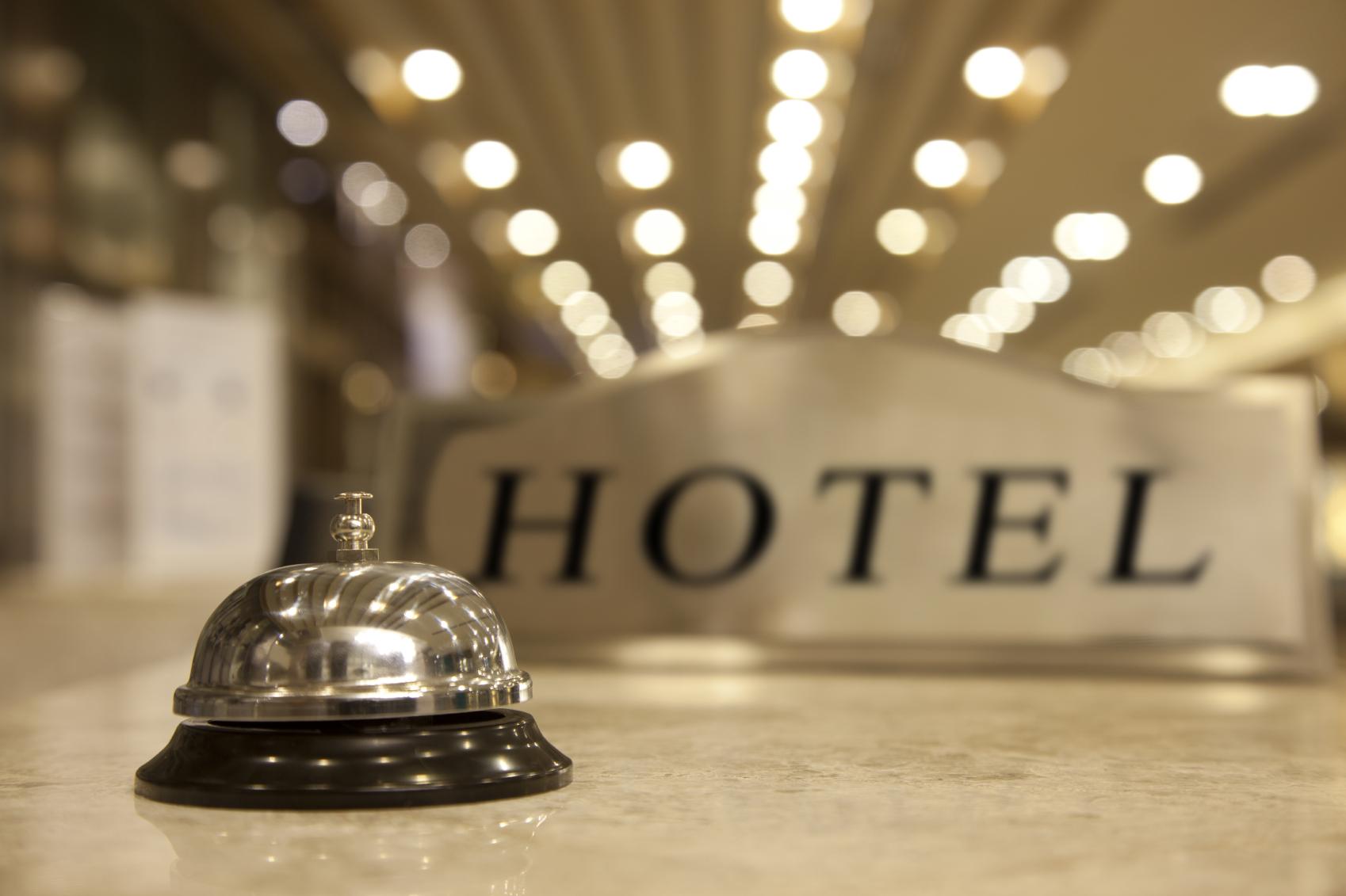 Hotel-reception-bell